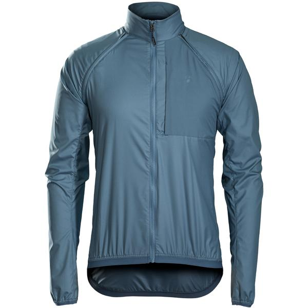 Bontrager Circuit Convertible Windshell Jacket Color: Battleship Blue