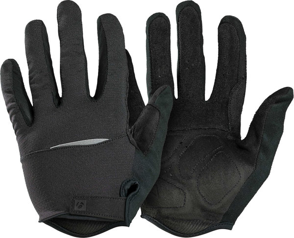 Bontrager Circuit Full Finger Cycling Glove Color: Black