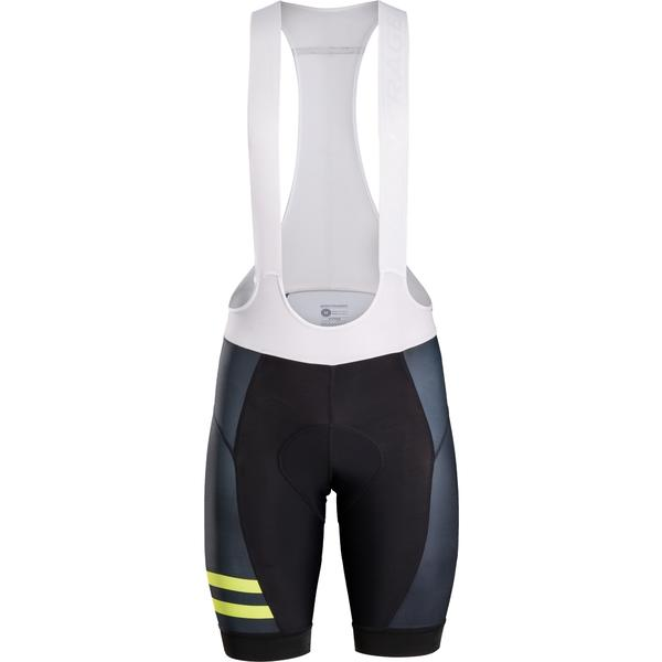 Bontrager Circuit LTD Bib Cycling Short Color: Black/Visibility Yellow