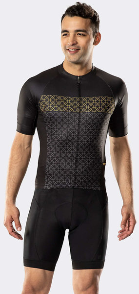 Bontrager Circuit LTD Cycling Jersey Color: Black/Gold