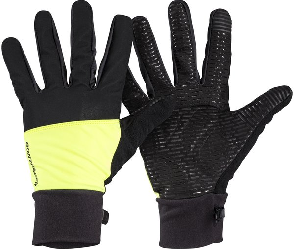 Bontrager Circuit Windshell Cycling Glove Color: Radioactive Yellow