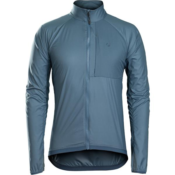 Bontrager Circuit Windshell Cycling Jacket Color: Battleship Blue