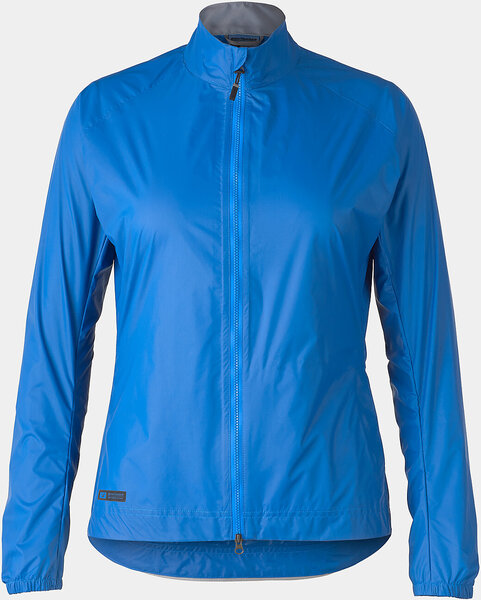 Bontrager Circuit Women's Cycling Rain Jacket Color: Alpine Blue