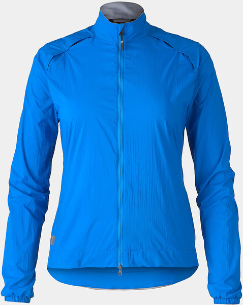 Bontrager Circuit Women's Cycling Wind Jacket Color: Alpine Blue