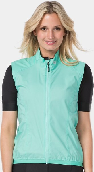 Bontrager Circuit Women's Windshell Cycling Vest Color: Miami Green