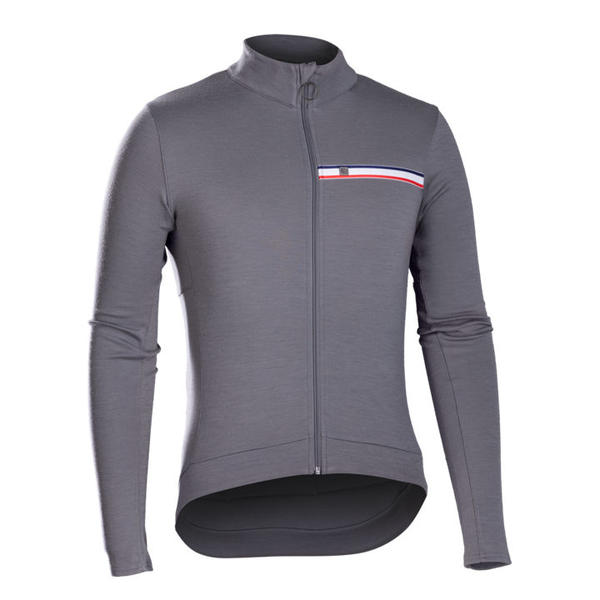 Bontrager Classique Thermal Long Sleeve Color: Gray Smoke