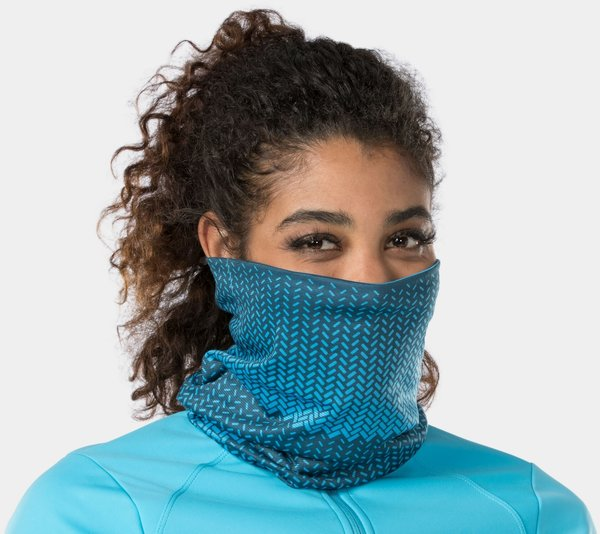 Bontrager Convertible Cycling Neck Gaiter Color: Azure