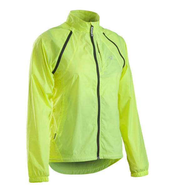 Bontrager Convertible WSD Windshell - Women's Color: Hi-Vis Yellow