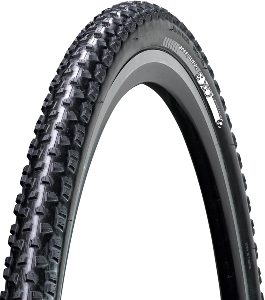 Bontrager CX3 TLR 700c Cyclocross Tire Color | Size: Black | 700 x 33c