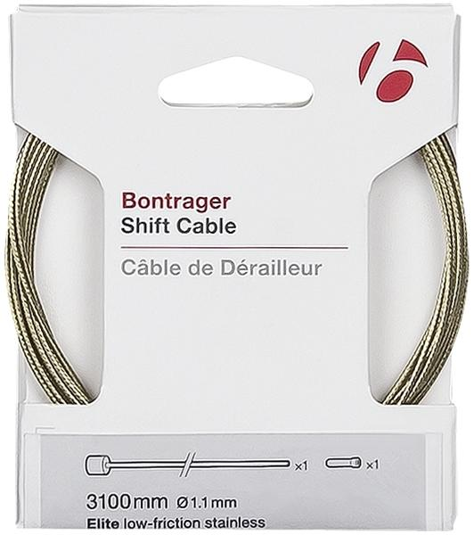 Bontrager Elite Shift Cables Color: Stainless