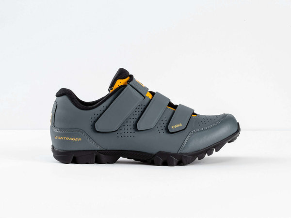 Bontrager Evoke Mountain Shoe Color: Battleship Blue/Marigold