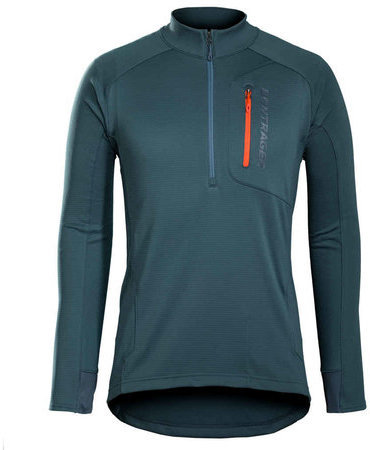 Bontrager Evoke Thermal Long Sleeve Jersey Color: Battleship Blue