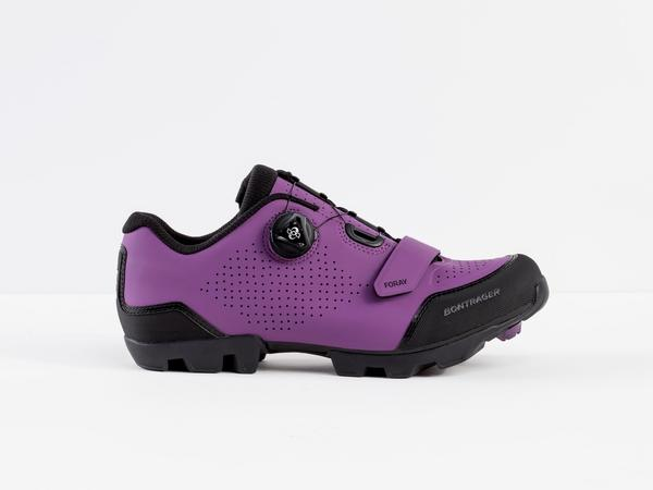 Bontrager Foray Women's Mountain Shoe Color: Purple Lotus