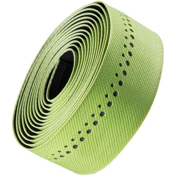 Bontrager Grippytack Visibility Handlebar Tape Color: Visibility Yellow/Reflective