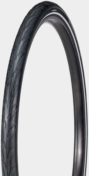 Bontrager H1 Hard-Case Lite Hybrid Tire Color: Black/Reflective