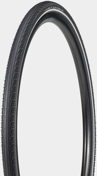 Bontrager H2 Hard-Case Ultimate Reflective Hybrid Tire Color: Black/Reflective