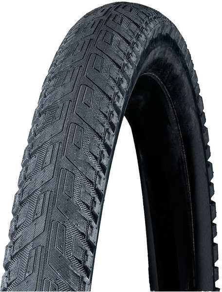 Bontrager H5 Hard-Case Ultimate Reflective Hybrid Tire 26-inch Color: Black/Reflective