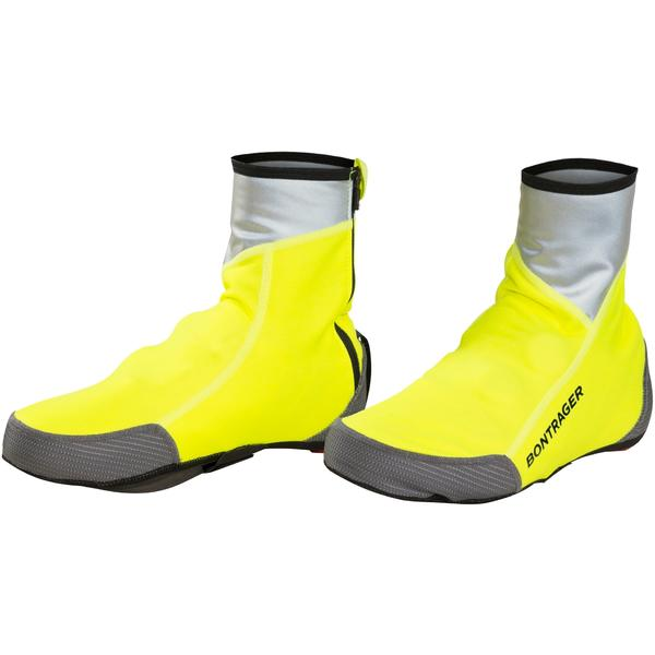 Bontrager Halo S1 Softshell Shoe Cover Color: Visibility Yellow