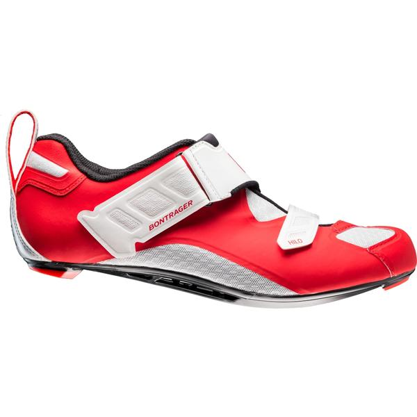 Bontrager Hilo Triathlon Shoe Color: Red/White