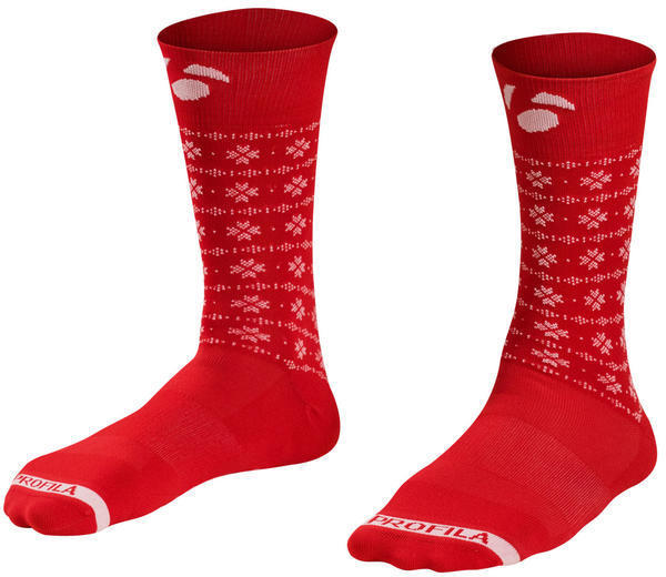 "Bontrager Holiday 5"" Sock Color: Red"