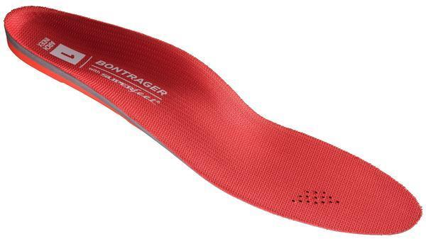 Bontrager inForm BioDynamic Insoles Color: Red