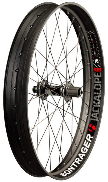 Bontrager Jackalope Fat Bike Rear Wheel Model: Rear: 170/177 x 12mm spacing