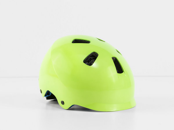 Bontrager Jet WaveCel Children's Bike Helmet Color: Vis Green/Royal