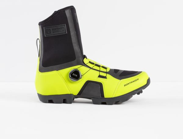 Bontrager JFW Winter Cycling Shoe Color: Radioactive Yellow