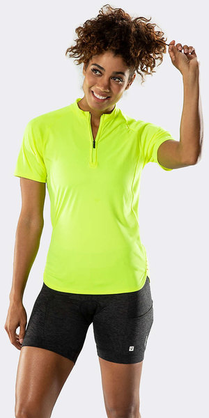 Bontrager Kalia Women's Fitness Jersey Color: Visibility Yellow
