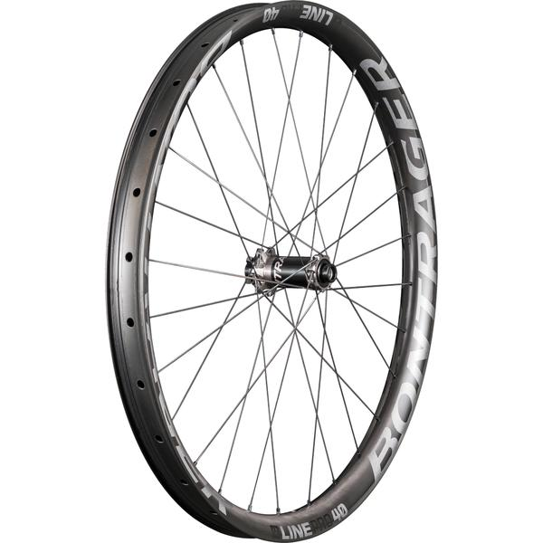 Bontrager Line Pro 40 TLR 27.5 Boost Axle | Color | Model: 15 x 110mm | Anthracite/Black | Front