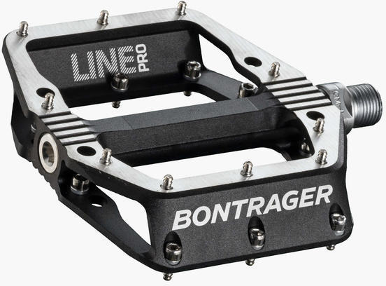 Bontrager Line Pro Pedals Color: Black