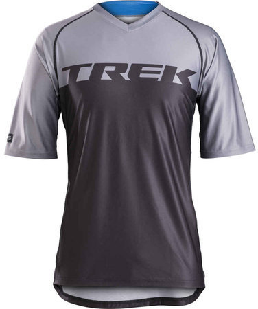 Bontrager Lithos Mountain Bike Tech Tee Color: Black/Charcoal