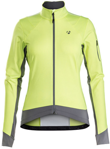 Bontrager Meraj Halo S1 Softshell Jacket Color: Visibility Yellow