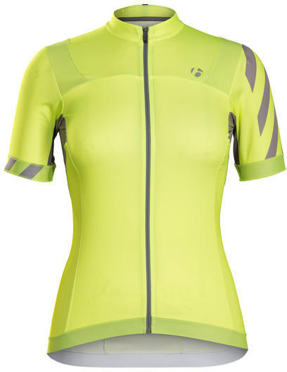 Bontrager Meraj Halo Short Sleeve Jersey Color: Visibility Yellow