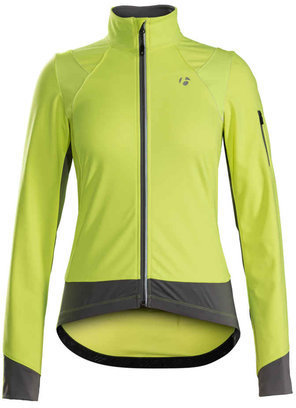Bontrager Meraj S1 Softshell Women's Jacket Color: Visibility Yellow