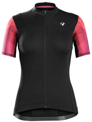 Bontrager Meraj Short Sleeve Jersey Color: Black/Viper Red