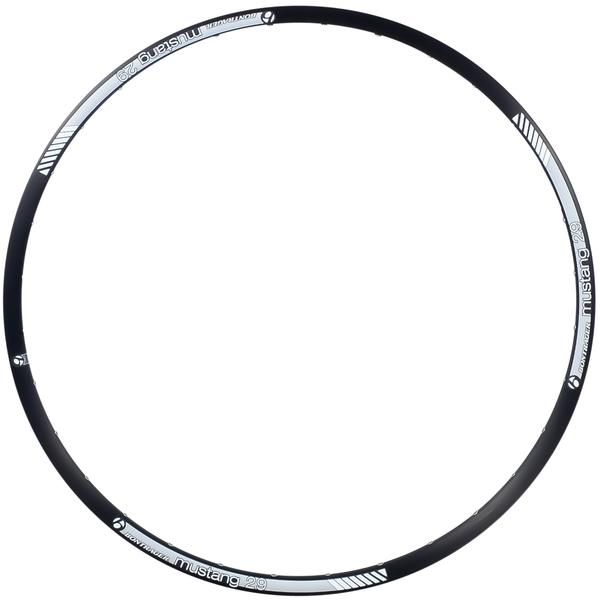 Bontrager Mustang Disc Rim Color | Hole Count | Size: Black | 32 | 29-inch