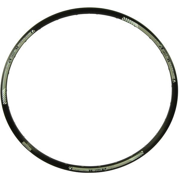 Bontrager Mustang Disc Rim Color | Hole Count | Size: Black | 28 | 29-inch