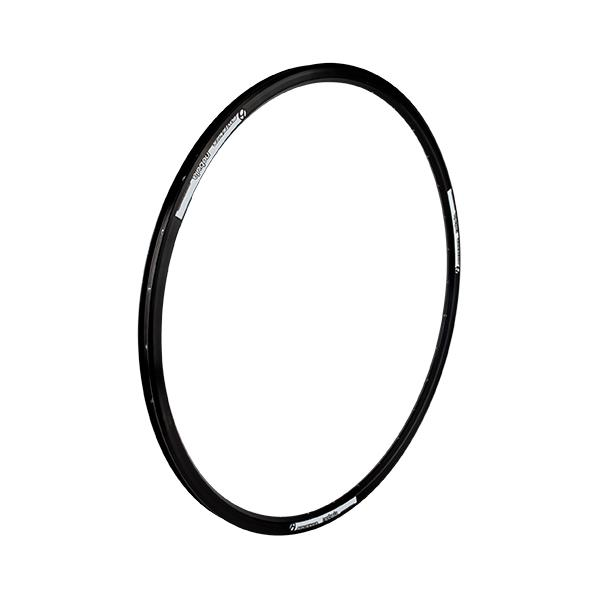 Bontrager Nebula Disc Rim Color | Hole Count | Size: Black/White | 32 | 700c