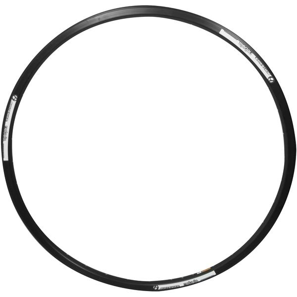 Bontrager Nebula Disc Rim Color | Hole Count | Size: Black/White | 36 | 700c