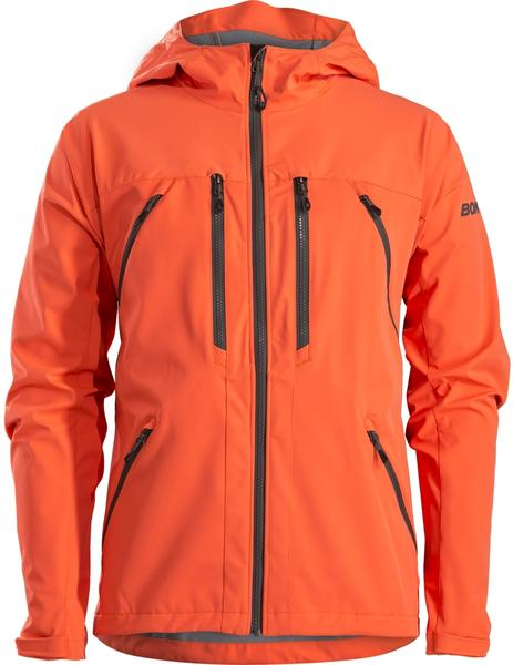 Bontrager OMW Softshell Mountain Bike Jacket Color: Radioactive Orange
