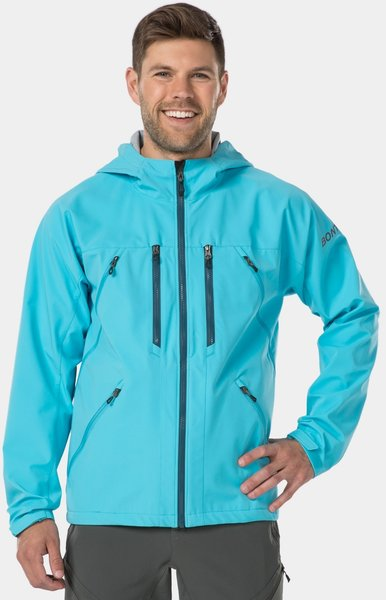 Bontrager OMW Softshell Mountain Bike Jacket Color: Azure