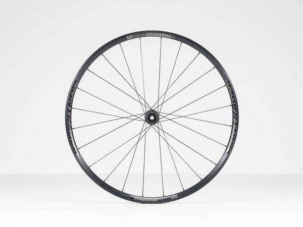 Bontrager Paradigm Comp 25 TLR Disc Road Wheel 700c Front Axle: 100 x 12mm