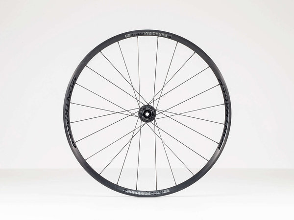 Bontrager Paradigm Comp 25 TLR Disc Road Wheel 700c Rear Color: Black
