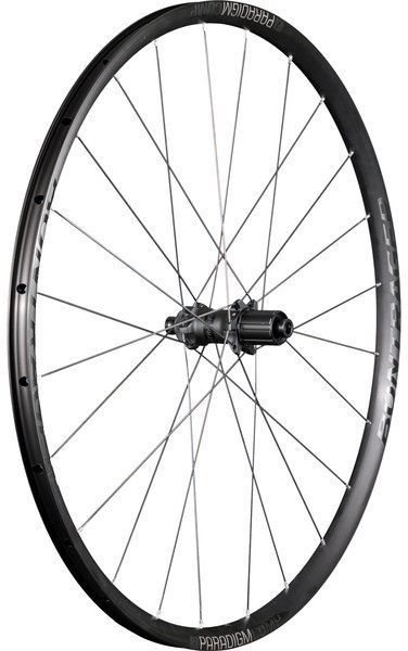 Bontrager Paradigm Comp TLR Disc Road Rear Wheel Color: Black/Anthracite
