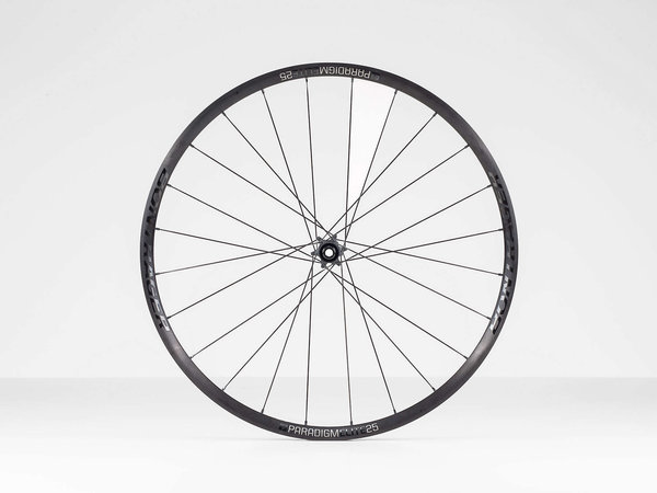 Bontrager Paradigm Elite 25 TLR Disc Road Wheel 700c Front Axle: 100 x 12mm