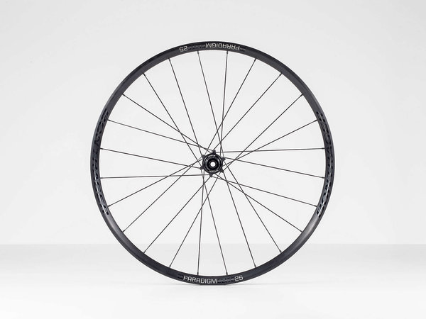 Bontrager Paradigm Elite 25 TLR Disc Road Wheel 700c Rear Color: Black