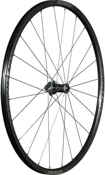 Bontrager Paradigm Elite TLR Disc Road Wheel 700c Front Color: Black/Anthracite