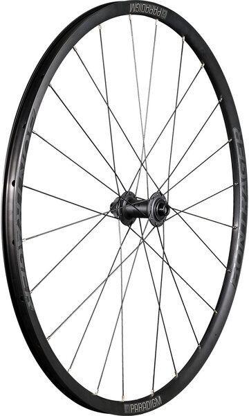 Bontrager Paradigm TLR Disc Road Front Color: Black/Anthracite