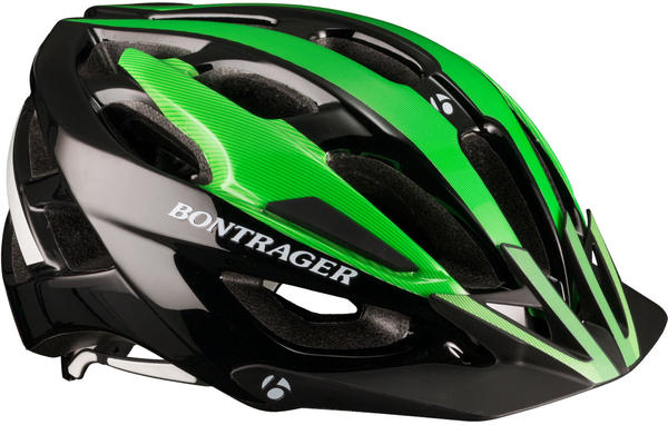Bontrager Quantum Bike Helmet Color: Hot Green